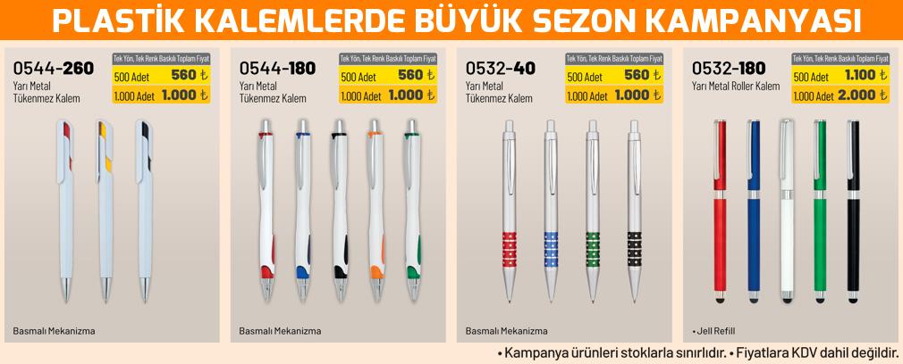 promosyon plastik kalem kampanyası